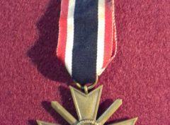 Croix du Mérite de Guerre – 1939 III Reich