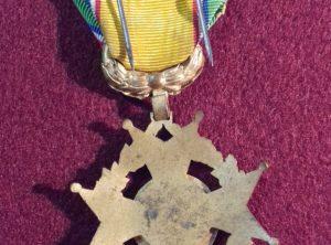 Croix du Mérite – Fédération Nationale des Sous Officiers des Armées de Terre et de Mer de France et Colonie