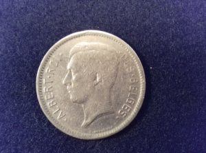 5 Francs – 1 Belga – 1930