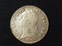 Ecu – Louis XV – 1766