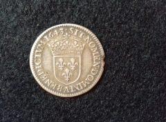 1/12 Ecu – Louis XIII – 1643