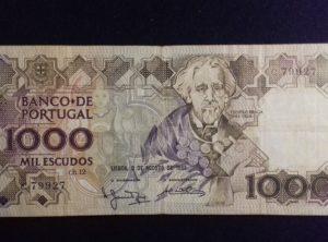 1000 Escudos – 01-08-1983