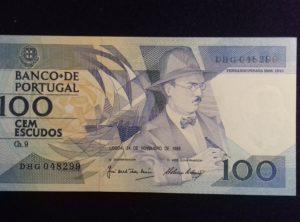 100 Escudos – 24-11-1988 – FDC