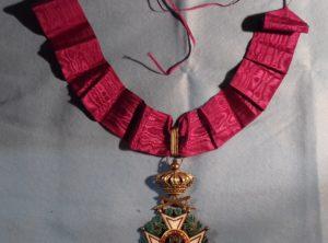 Commandeur l'Ordre de Léopold Premier Militaire