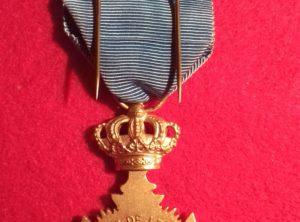 Croix d'Honneur de Vétéran de Léopold II