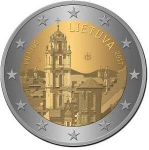 2€ Lituanie 2017 – Vilinus
