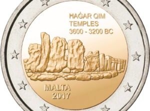 2€ Malte 2017 – Hagar Qim