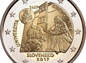 2€ Slovaquie 2017 – 550 ans l'Université Istropolitana