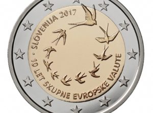 2€ Slovénie 2017 – 10 ans de l'introduction de l'Euro