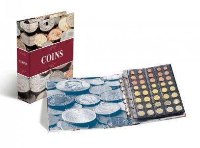 Album Optima - Carton - Imprimé - Numismatique - Monnaies