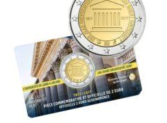 2€ Belgique 2017 – 200ans Université de Gand – CoinCard
