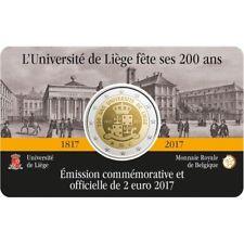2€ Belgique 2017 – 200ans Université de Liège – CoinCard