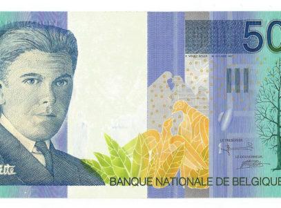 Billet Belge - 500 Francs Magritte