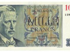 1000 Francs Belge – Centenaire – FDC