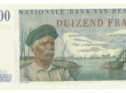 Billet Belge - 1000 Francs Centenaire