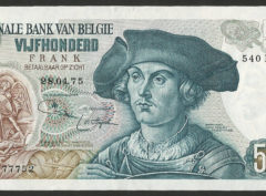 500 Francs – Type Orley – FDC