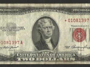 2$ – USA – 1953