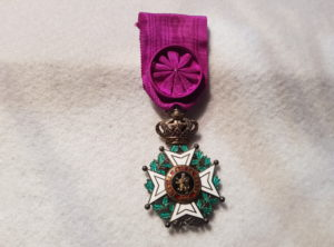 Officier Ordre de Léopold I – Unilingue