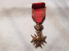 Croix de Guerre 1940 + Palme