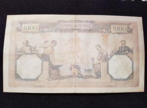 France – 1000 Francs – 26.01.1939