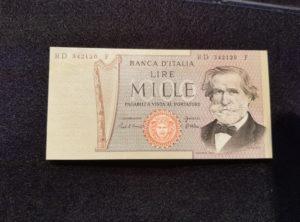 1000 Lire – Italie – 26.02.1969 – FDC