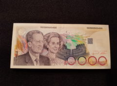 10.000 Francs – Belgique – Baudouin – SUP