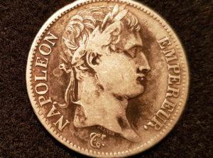 5 Francs – Napoléon Empereur – 1808 Paris