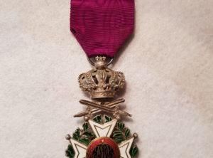 Ordre de Léopold Premier Militaire – Unilingue