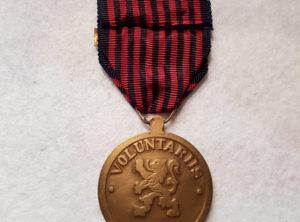 Médaille du volontaire de guerre Combattant
