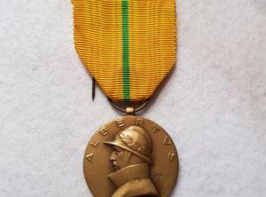 Médaille Commémorative du règne de S.M Albert I