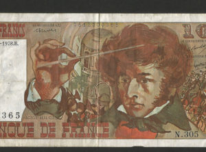 10 Francs – Hector Berlioz – 06.07.1978