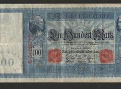 100 Mark – ReichsBanknote – 21 April 1910