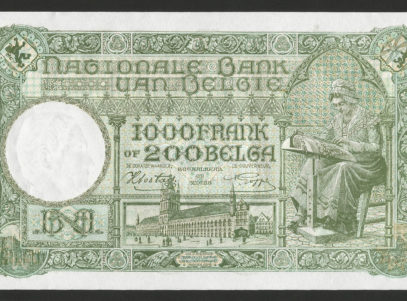 Billet - Belgique - 1000 Francs / 200 Belgas - 30.07.42