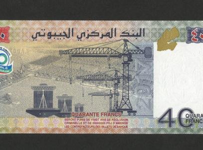 40 Francs - Billet - Djibouti