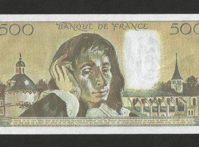 500 Francs - France - Billet - 6.08.1992 - NEUF
