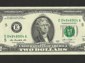2 Dollars – USA – Series 2013 – FDC/NEUF