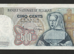 500 Francs – Orley – 21.04.75 – FDC