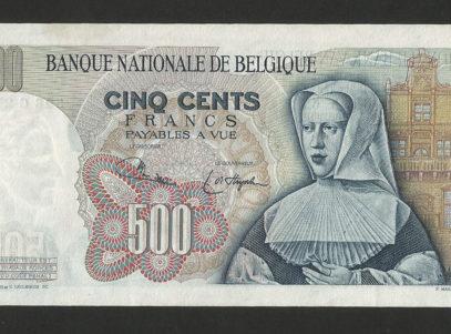 Billet - Belgique - 500 Francs - Type Orley