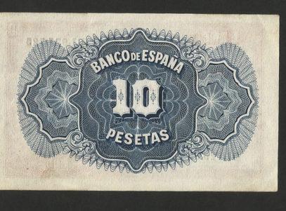 10 Pesetas - 1935 - Billet