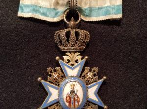 Commandeur Ordre de Saint Sava III Classe