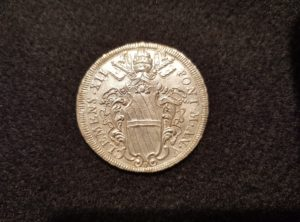 1/2 Piastra – Clément XII – 1735 – An V