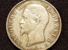 5 Francs – Napoléon III – 1856 A