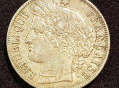 5 Francs – 1870 – A