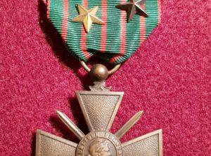 Croix de guerre – 1914/1917 – République Française