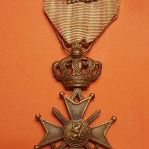 Croix de guerre - Belgique - 1914-1918 - Albert - Palme