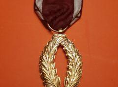 Médaille - Palmes d'Or - Ordre de la Couronne - Belgique
