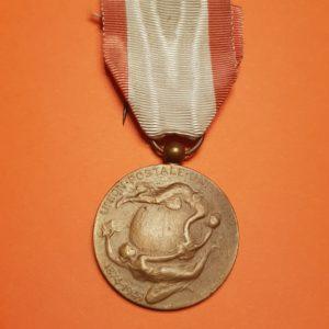 Médaille de l'Union Postale Universelle - Belgique 1849