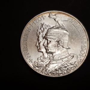 Allemagne - 1901 - 5 Mark
