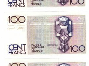Billet - Belgique - 100 Francs type Beyaert