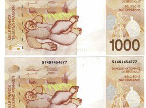 Billet - Belgique - 1000 Francs type Constant Permeke